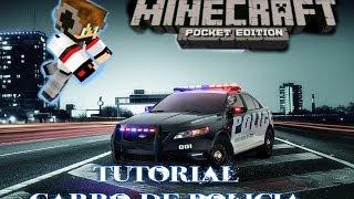 Minecraft Tutoriales| Como Hacer Un Carro De Policia