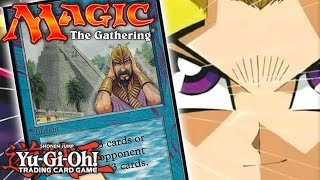What If Yu-Gi-Oh! Had Magic: The Gathering Cards?