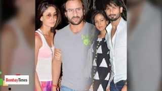 Shahid-Mira and Saif-Kareena's Gym Encounter !