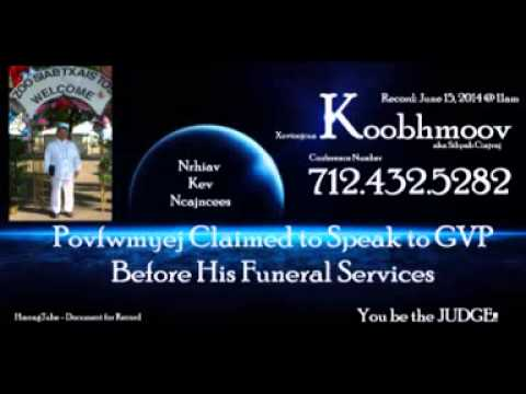 Povfwmyej Claimed To Speak to GVP Spirit Before the Funeral