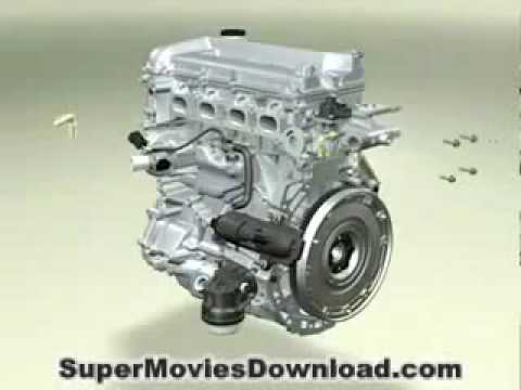 EXACTLY how a car engine works   3D animation ! -Jz7G9kDoRgk
