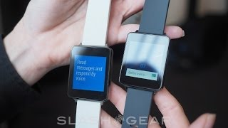 LG G Watch Hands on Google IO