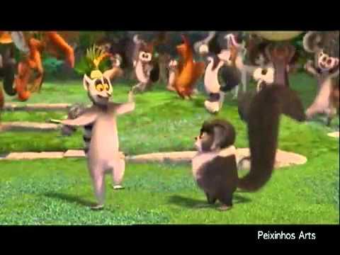 Animação Madagascar   Aline Barros   Pula Pula