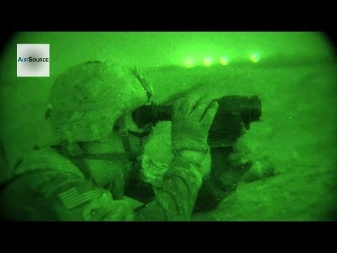Night Vision Cam - U.S. Army Scouts Night Operations, Kandahar Airfield. | AiirSource