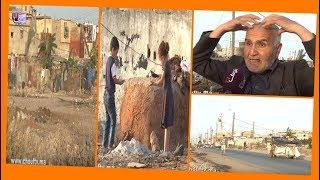بالفيديو..منطقة عين حرودة بالدارالبيضاء تغرق في الأزبــال  