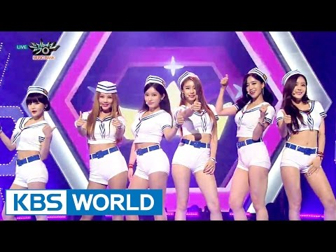 T-ARA - So Crazy | 티아라 - 완전 미쳤네 [Music Bank COMEBACK / 2015.08.22]