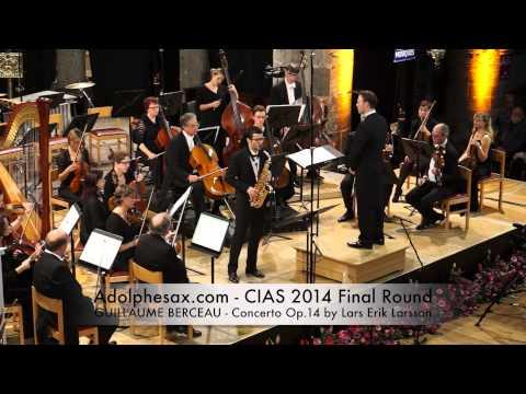 GUILLAUME BERCEAU Concerto Op 14 by Lars Erik Larsson