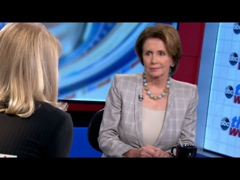 'This Week': Nancy Pelosi Interview - House Democratic Leader on Washington's Budget Battles