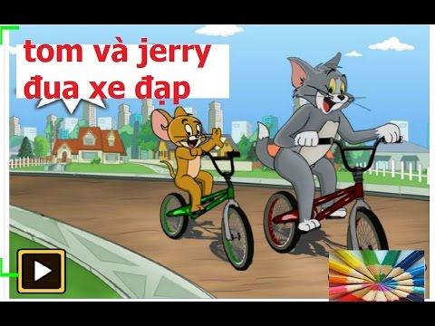 mèo tom và jerry đua xe đạp/ tom and jerry đua xe đạp/game tom và jerry đua xe đạp