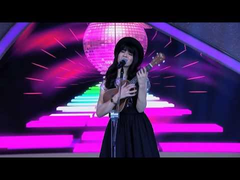 Programa Raul Gil - Bianca Malfatti (Lacinhos Cor de Rosa) - Jovens Talentos - #JT2013