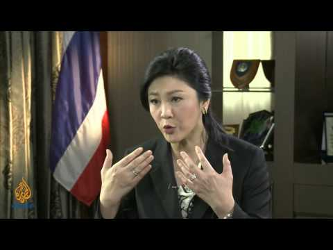 "Talk to Al Jazeera - Yingluck Shinawatra: ""This is unlawful"""