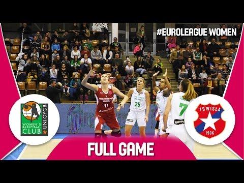 Euroliga 2016/17: CMB Cargo UNI Győr - Wisla Krakow