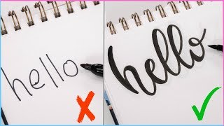 How To: Calligraphy & Hand Lettering for Beginners! Easy Ways to Change Up Your Writing Style!