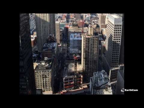 Tallest Hotel in North America: Marriott Construction Time-Lapse Movie