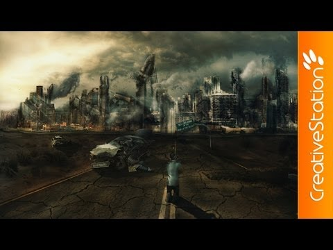 Welcome at The End of The World - Speed art ( #Photoshop ) | CreativeStation