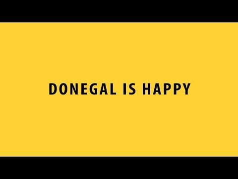 Happy - Pharrell Williams (Donegal is Happy) Official Video