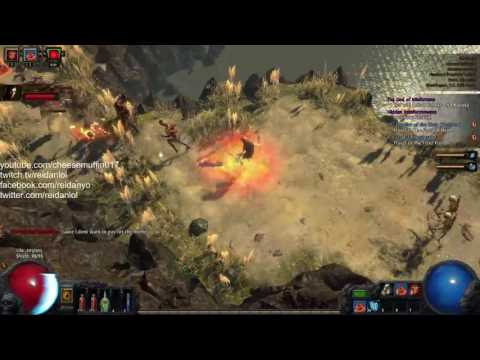 Path of Exile HC Prophecy Spectre Necromancer Gameplay 1