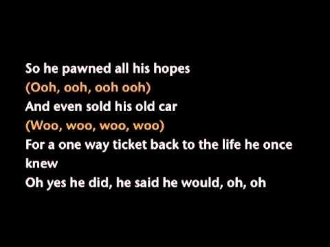 Midnight Train to Georgia Lyrics