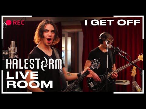 Halestorm I Get Off Live Room