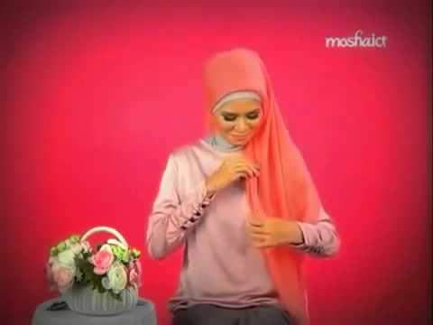Tutorial Hijab -  Jilbab Segitiga Yang Mudah Dan Cantik Terbaru 2014