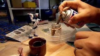 How To Decant Paint From A Spray Can (1st Method)