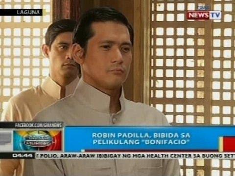 BP: Robin Padilla, bibida sa pelikulang 'Bonifacio'