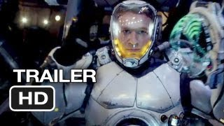 Pacific Rim Official Trailer #1 (2013) Guillermo Del
