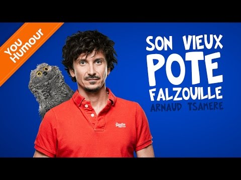 Arnaud Tsamere &amp; son vieux pote Falzouille...