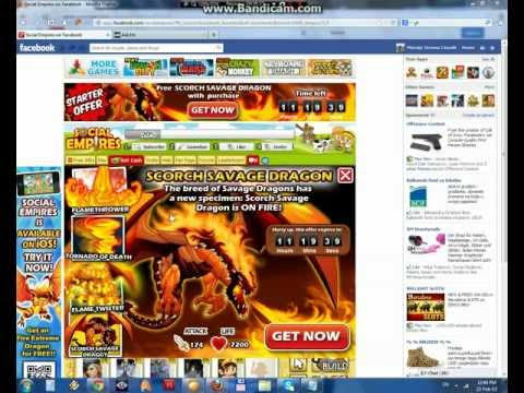 Social Empires Scorch Savage Dragon Hack 2013 (Using Cheat Engine)