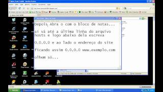 Como Bloquear Sites No Windows XP
