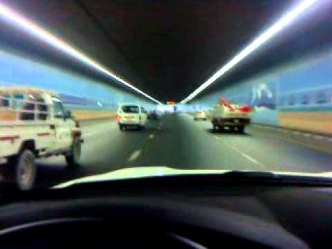 Jokalian , Mubi Driving in Dubai  Airport   tunnel.