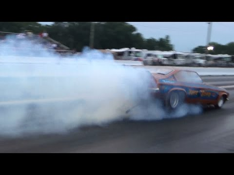 Burnouts/Funny car old school Capitol 7-19-14