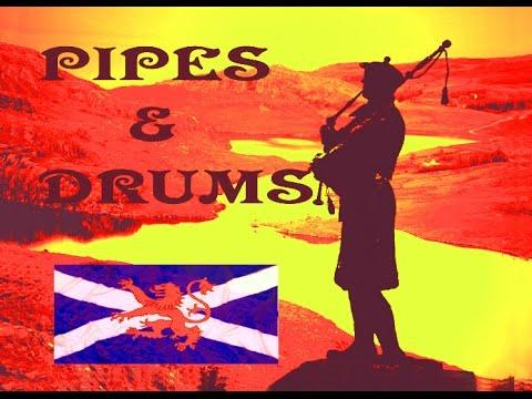Scottish Pipes & Drums ~Celtic~ Albannach.