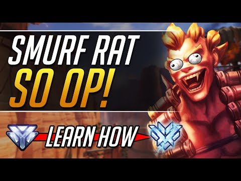 Smurf Junkrat - Pro Junkrat Tips and Tricks Gameplay Guide| Overwatch Guide