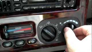 Replace Blower Resistor For 2000 Chrysler Town And Country