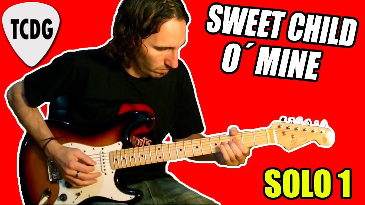 Como tocar Sweet Child O´ Mine Solo 1 (Guns N´ Roses ...