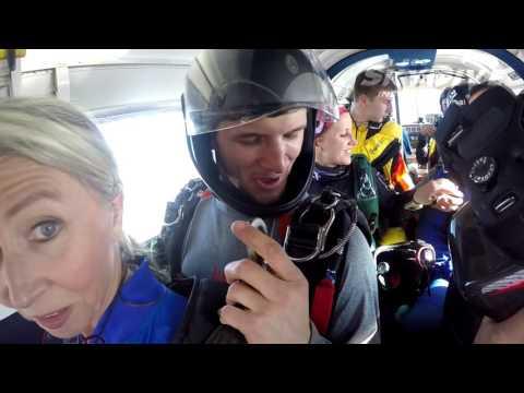Diane Sirota's Tandem skydive!