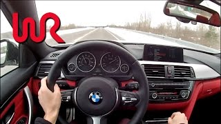 2014 BMW 435i XDrive (6-Speed Manual) WR TV POV Test