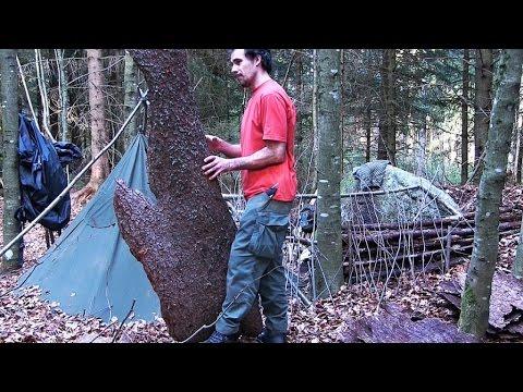 Tagebuch eines Waldläufers Teil 2 - Das Lager weiter ausbauen und eine besondere Entdeckung