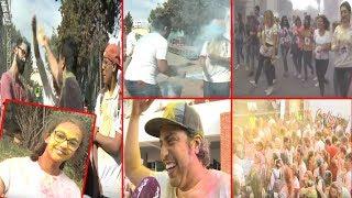 على خطى الهنــــد..أول مهرجان للألوان بالدارالبيضاء..شوفو تفاعل المغاربة | بــووز