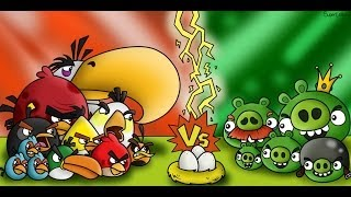 Angry Birds Vs Bad Piggies Green Pig FREE Online Mini