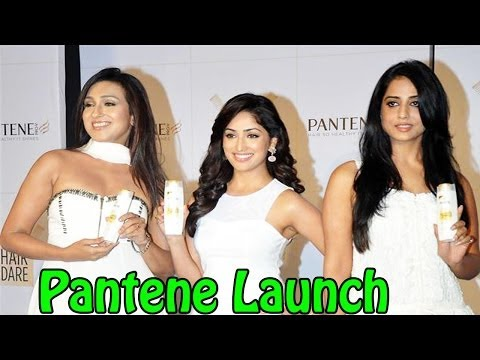 Launch Of Improved Range of Pantene | Yami, Rituparna, Mahi Gill