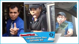 [$30,000 Drive Thru Prank Part II  - HaanZFilmz] Video