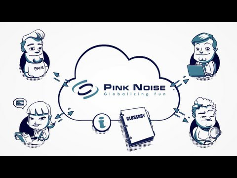 Pink Noise. Modelo de trabajo en la nube. Working process in the cloud.