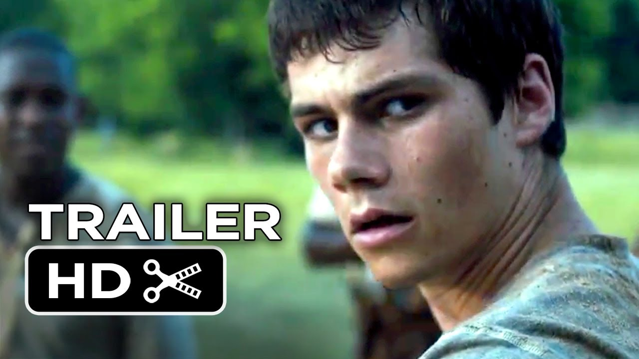 A photo of The Maze Runner Official Trailer #1 (2014) Dylan O'Brien Dystopian Movie HD