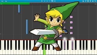 Ending Theme - The Legend of Zelda: A Link to the Past (Piano Cover) [Synthesia]