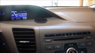 Teste Completo Civic 2012 LXL Parte 1/2 (interior Do Carro