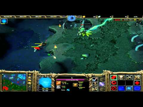 DotA 6.74c with Alan: Wisp