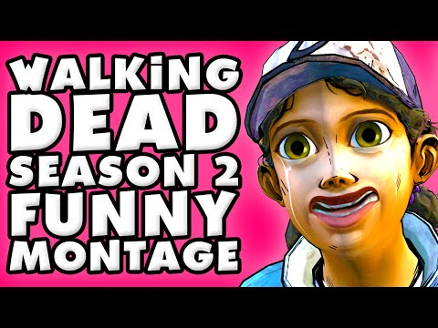 The Walking Dead Season 2 Funny Montage!