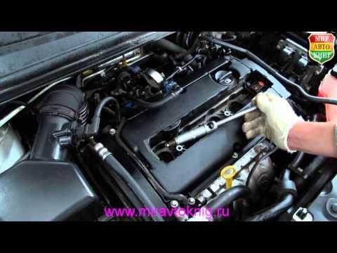 Замена свечей зажигания двигателя автомобилей Шевроле Авео Т300 и Круз